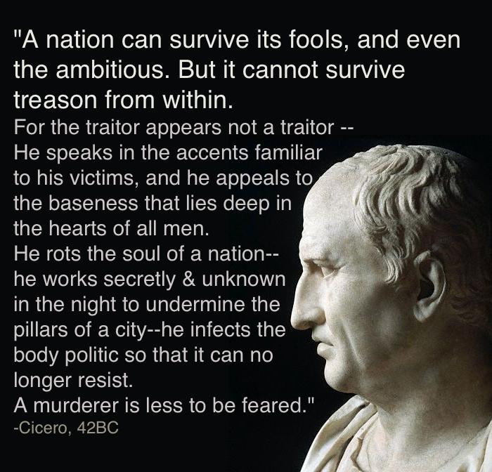 Va Cicero Treason